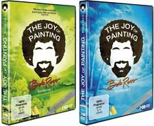 4 DVDs * BOB ROSS - THE JOY OF PAINTING - KOLLEKTION 1 + 2  # NEU OVP