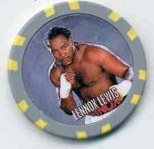 LENNOX LEWIS  FIGHT COLLECTOR  CHIP