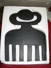 Duafe (wooden comb)  Adinkra symbols- hang on wall, door, inside or outside