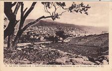 BANYULS-SUR-MER 3 LL la côte vermeille panorama vu du vieux banyuls écrite 1934