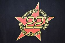 Twenty Two Jacks 22 Going North Punk Wax Breeders Adolescents VTG 90s XL T-Shirt