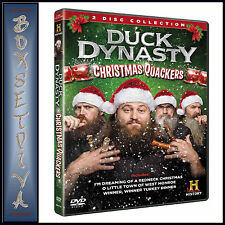 DUCK DYNASTY - CHRISTMAS QUACKERS **BRAND NEW DVD**