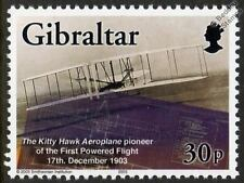 1903 WRIGHT BROTHERS Kitty Hawk Flyer I Aircraft Stamp (2003 Gibraltar)