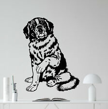 Saint Bernard Dog Wall Decal Nursery Poster Vinyl Sticker Art Decor Mural 45aaa