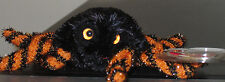 Ty Halloweenie Beanie Baby ~ CREEPS the Spider (3 inch) ~ MINT with MINT TAGS