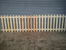 picket fence,Wooden Picket, Fence Panels- 6' x 3', bargain