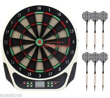 Electronic Dartboard Set 159 Games 16 Players - Darts Dart Indoor Fun Board Game