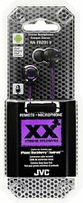 JVC FR201 Xtreme Xplosives Headphones with Remote and Mic -Purple