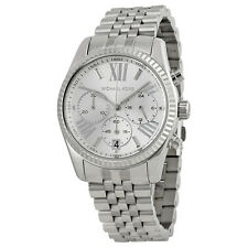 Michael Kors Lexington Chronograph Stainless Steel Ladies Watch MK5555