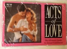 Adult Sexual Aid Paperback Book Acts of Love Sex Manual