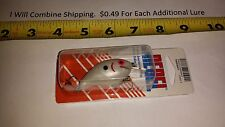 Rebel Wee R Crankbait Fishing Lure Pearl White Color New
