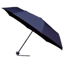 Ladies MiniMax Supermini Wind Resistant Manual Folding Umbrella - Navy