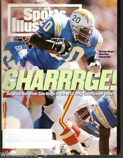 1994 Sports Illustrated San Diego Chargers Natrone Means Subscription Issue Exc*
