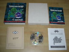 X-Com TERROR FROM THE DEEP IBM Pc Cd Rom  Original BIG BOX