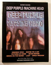 "DEEP PURPLE ""MACHINE HEAD"" BAND SCORE JAPAN GUITAR TAB"