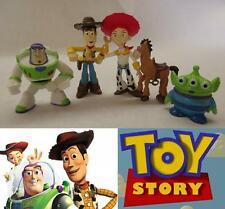 5pc Toy Story Buzz Woody Characters Figures Birthday Cake Topper Figurine Set