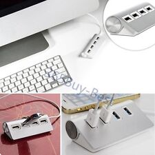 Super Speed 5Gbps 4-Port USB 2.0 Premium Aluminum Hub For iMac MacBook PC tablet