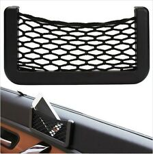 Car Mesh Net Bag Resilient Phone Storage String Bag Phone Holder Ticket Pocket