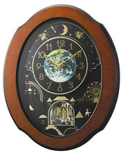 (New!) TIMECRACKER COSMOS Musical Magic Motion clock Rhythm clocks 4MH879WU06