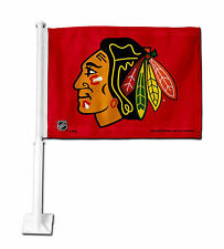 Chicago Blackhawks Car Flag NHLTeam Pride Officially Licensed Truck Banner
