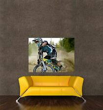 Poster Impression Photo Sport VTT Descente VTT Dirt Racing vitesse seb365