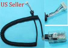 Mic Microphone Cord Cable for Yaesu Vertex MH-48A6J MH-42B6J FT-1900, FT-1900R