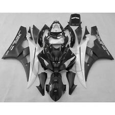 Black ABS Plastic Fairing Kit For YAMAHA YZF R6 YZF-R6 2006-2007 Injection Mold