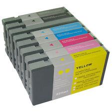 8 x Tinte Cartridge für Epson Stylus Pro 9800 7800 je 220ml UltraChrome K3 INK