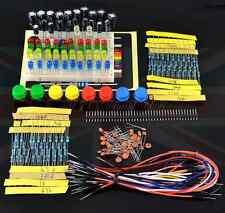 STARTER Electronics componenti pacchetto elemento pezzi Kit Set Per Arduino Regno Unito di vendere