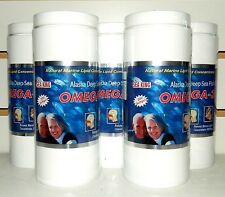 5 Bottles Combo Omega-3 Alaska Deep Sea Fish Oil Natural Marine Lipid Conce.