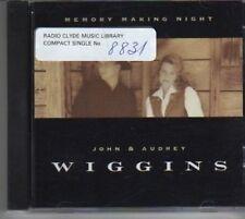 (BD868)John & Audrey Wiggins,Memory Making Night- DJ CD
