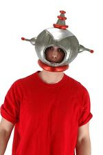Space Man Astronaut Retro Costume Headpiece Adult One Size