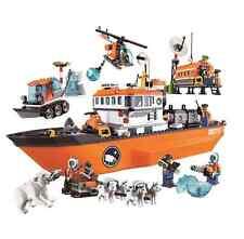 COMPATIBILE LEGO 60062 Nave Artica Rompighiaccio Nuovo SPEDIZIONE IMMEDIATA RARO