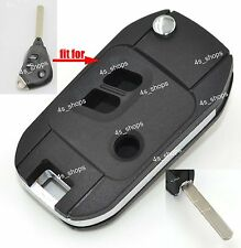 Flip Remote Key Case Shell For Subaru Forester Impreza Legacy Outback Tribeca 3B