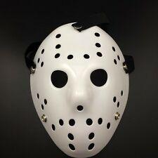 Jason Voorhees Friday the13th Horror Movie Hockey Halloween Party White Mask