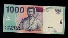 INDONESIA  1000  RUPIAH  2000/2003  LKN  PICK # 141d  AU-UNC  BANKNOTE.