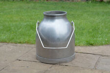 stainless steel milk churn milkchurn milking pot / plant pot -  FREE DELIVERY