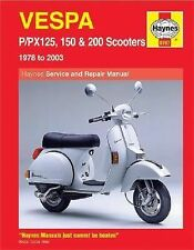 Vespa PPX 125, 150 & 200 Scooters 1978-2003 (Haynes Repair Manuals)