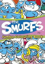 CLEARANCE Classic Smurfs Jumbo Colouring Book - Party Bag/Stocking Filler