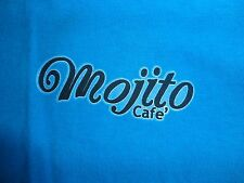 Blue Mojito Cafe Virginia Beach VA T Shirt Adult L Free Shipping US
