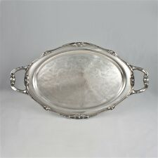 Vintage 1881 Rogers Glenrose Silverplate Tray Chased Bottom