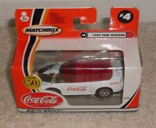 COCA COLA MATCHBOX MATTEL WHEELS 1999 FORD MUSTANG  NEW BOXED 2001