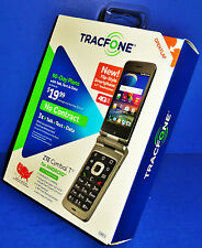 BRAND NEW TracFone ZTE Cymbal T 4G LTE Flip-Style Android Smartphone (CDMA-V)