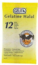 12 Hojas De Oro Grado halal de hojas de gelatina de la especie bovina de carne de vacuno Gelatina por Gelita