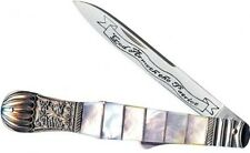 SCHRADE COLLECTOR SERIES DIRK 2 STYLE KNIFE SDIRK2P Mother of pearl handles