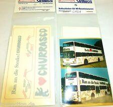 Churrasco Steaks Berlin Stettnisch Nassschieber Busbeschriftung SD200 H0 1:87 å