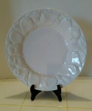 ESTE CE Off White Serving Platter Pears Berries Made in Italy 10 7/8""