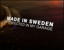 MADE IN SWEDEN Car Decal Sticker Volvo R Design C70 C30 V50 V40 S40 Saab