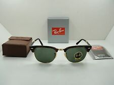 RAY-BAN FOLDING CLUBMASTER SUNGLASSES RB2176 990 TORTOISE/GREEN G-15 LENS 51MM