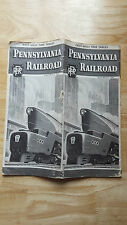 Pennsylvania Railroad East-West Time Tables March 2, 1947 Trains Railway